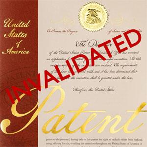 Patent invalidated