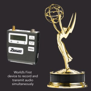 Zaxcom TRX900 Emmy - Glenn Sanders - US Inventor