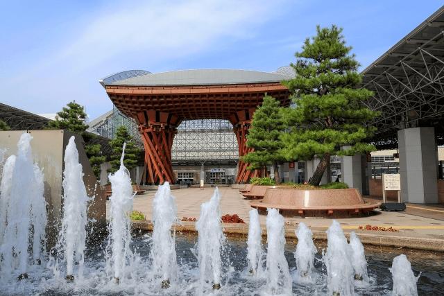 金沢観光のおすすめルート11月に行くならここ!ホテル情報も一緒に紹介