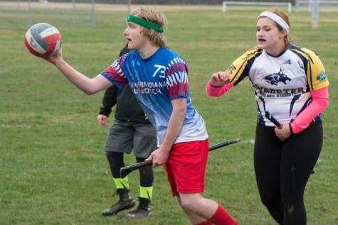 Quidditch travels to first national tournament