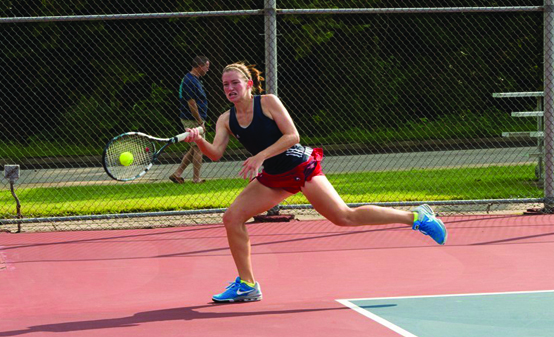 Women's tennis starts season strong
