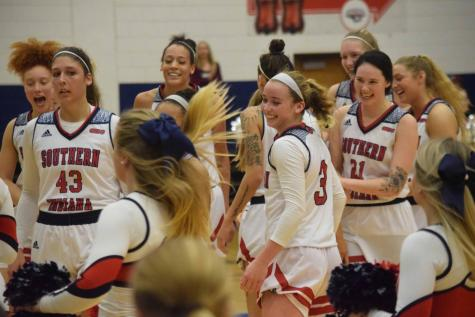 GALLERY: USI Woman's Basketball vs.University of Missouri S&T (WIN 90-71)