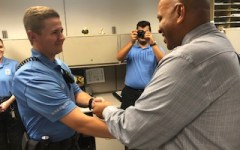 Public Safety officers awarded new badges