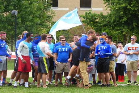 Fraternities bid on 'like-minded'