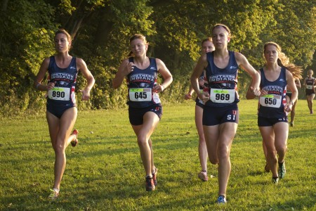 Five USI runners make top 10
