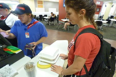 Sodexo will replace to-go containers