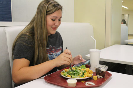 Students still unsatisfied with Sodexo