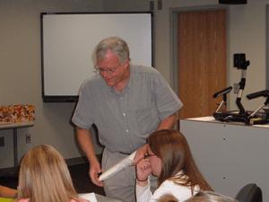 Community remembers retired professor, Shield adviser