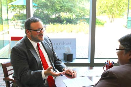 New, 'gregarious' dean focuses on student advocacy