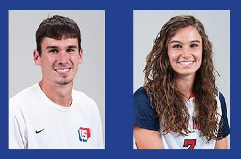 Siblings play for USI soccer teams