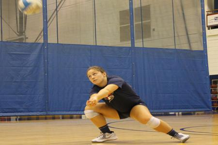 Volleyball sets season goals