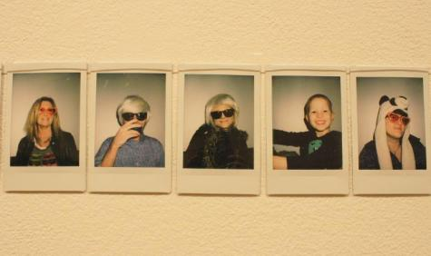 Warhol pictures on display in gallery