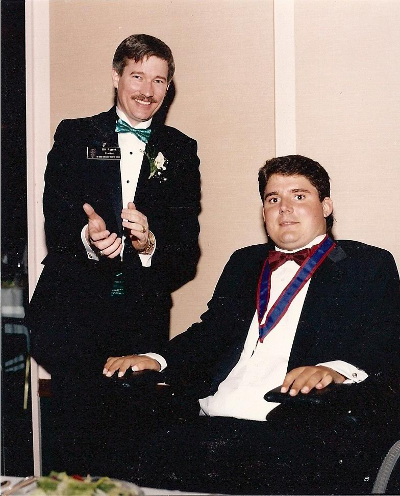 Marc Buoniconti 1993 TOYA Honoree