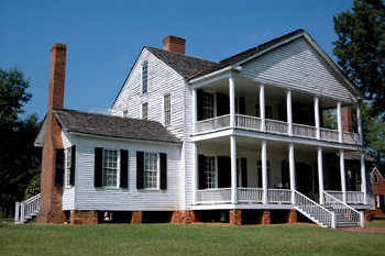 The Bratton Family Homestead - Col. William Bratton's home were continued in the 19th century by his youngest son, Dr. John Simpson Bratton (1789-1843)
