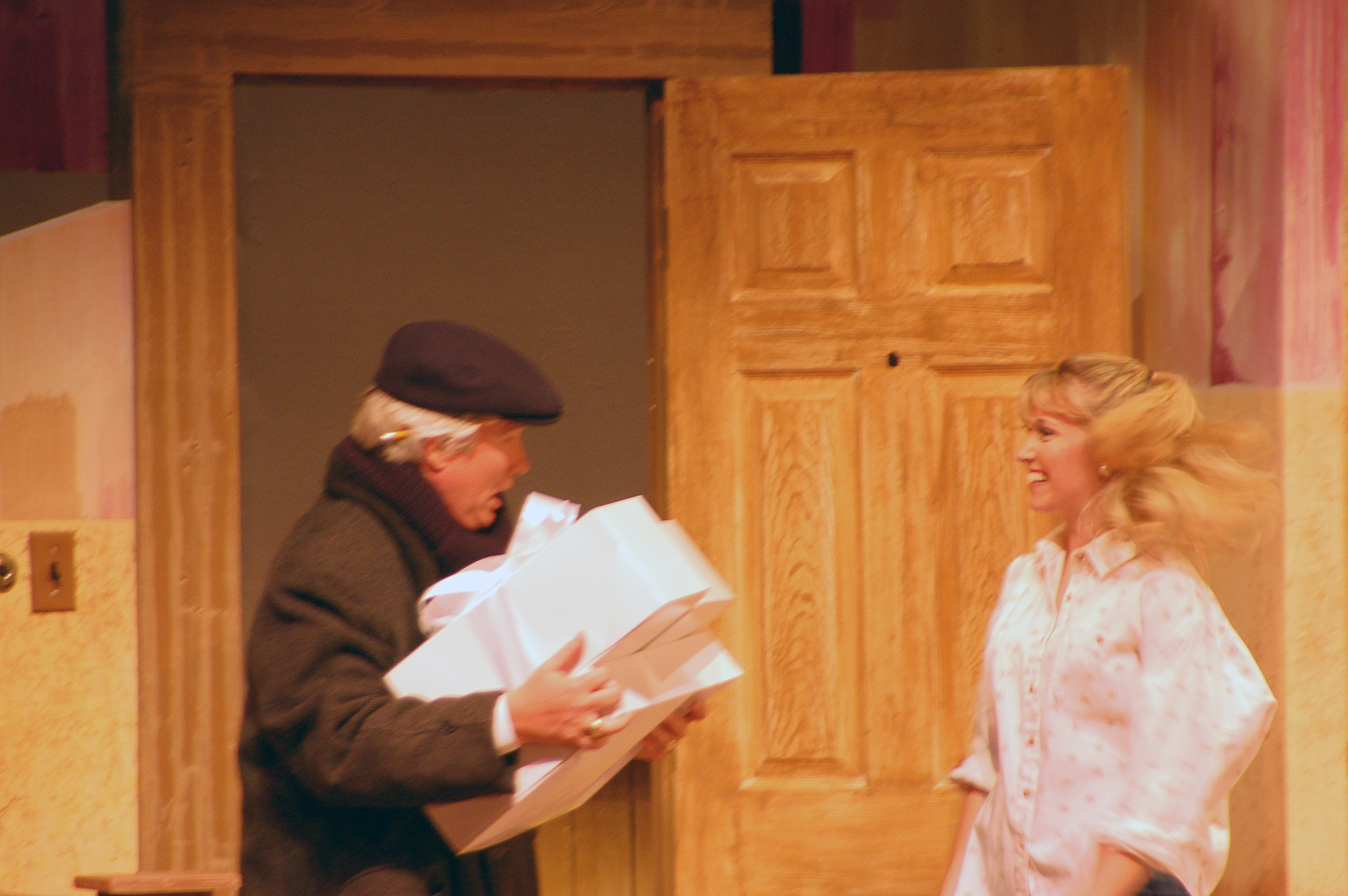 The out of breath delivery man from Barefoot in the Park