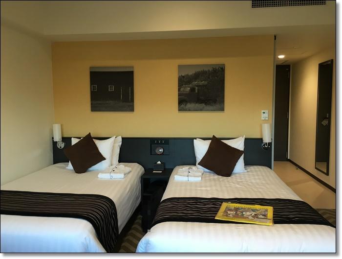USJ パークフロントホテル スタンダードフロア シティビューツインルーム