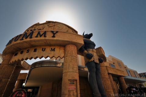 USJ THE MUMMY MUSEUM