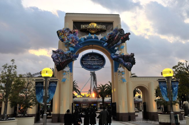 East Gate Universal Night Parade