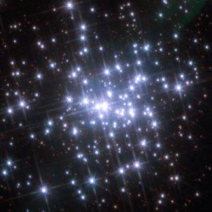 Tähtijoukko NGC 3603. Kuva: ESA Hubble.
