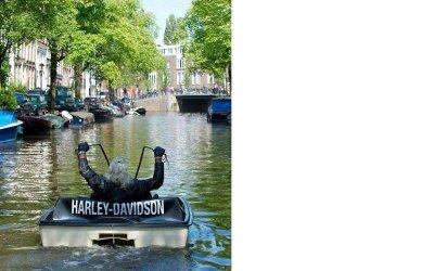 Hells Angels tar över Amsterdam!