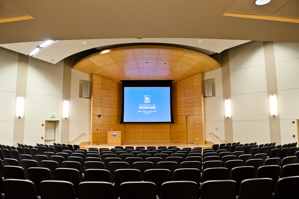 Hannaford Hall Auditorium  Conference Services