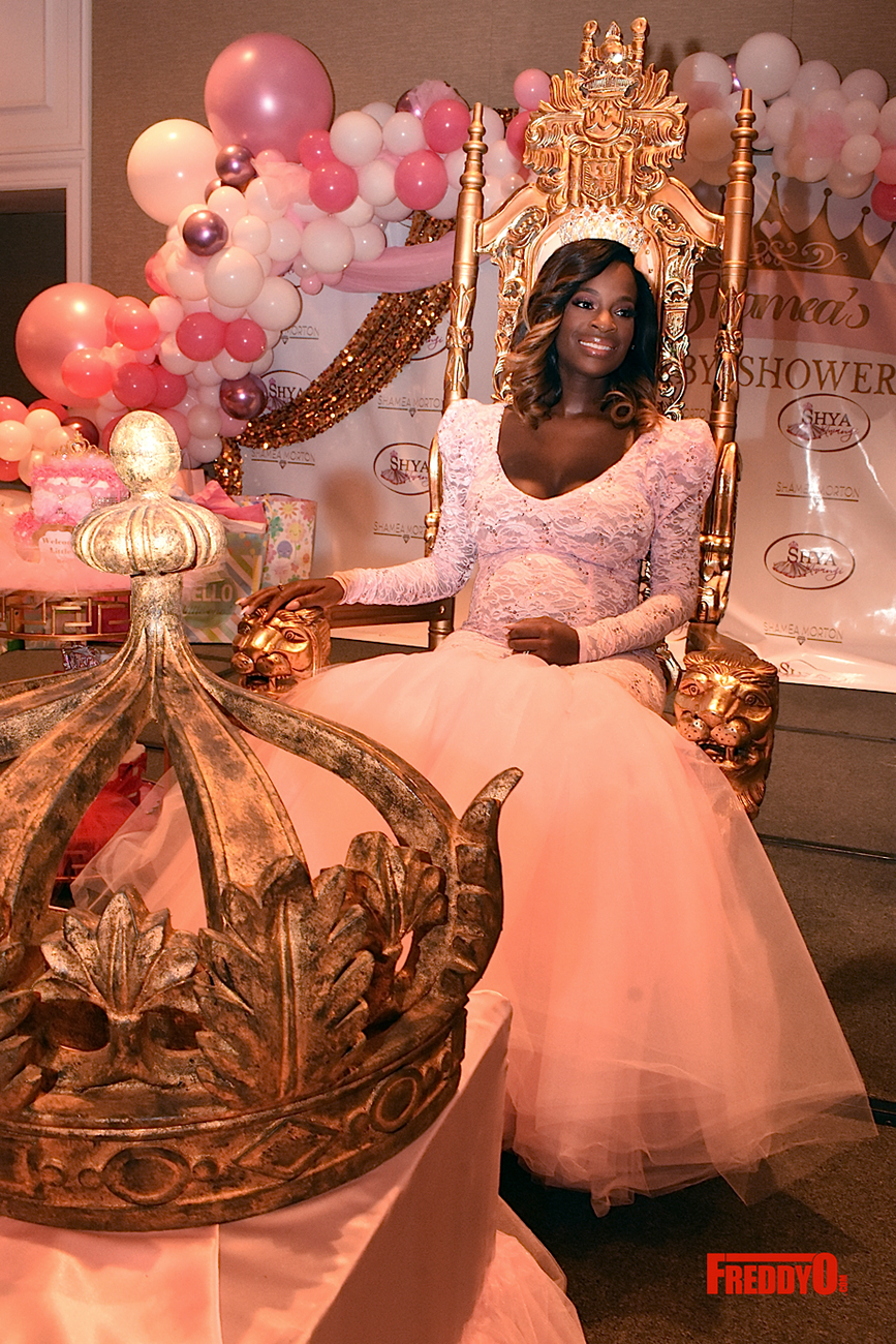Where To Have A Baby Shower In Atlanta : where, shower, atlanta, Inside, 'RHOA', Shamea, Morton's, Tutus,, Tiaras-Themed, Shower