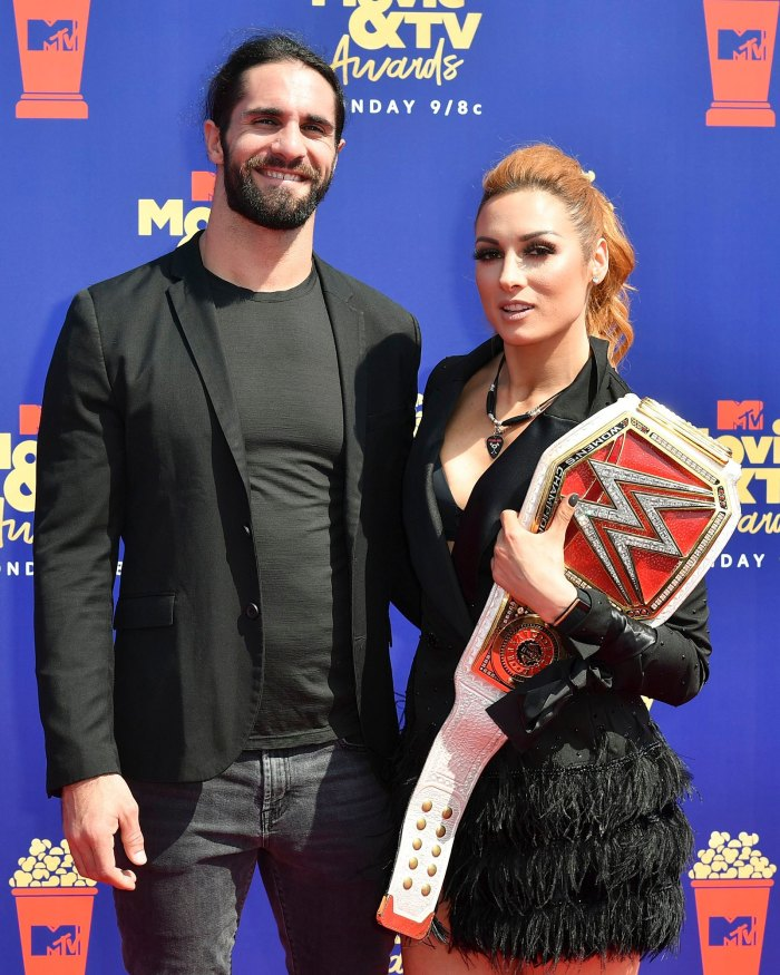 Seth Rollins Becky Lynch : rollins, becky, lynch, WWE's, Rollins, Becky, Lynch, Engaged