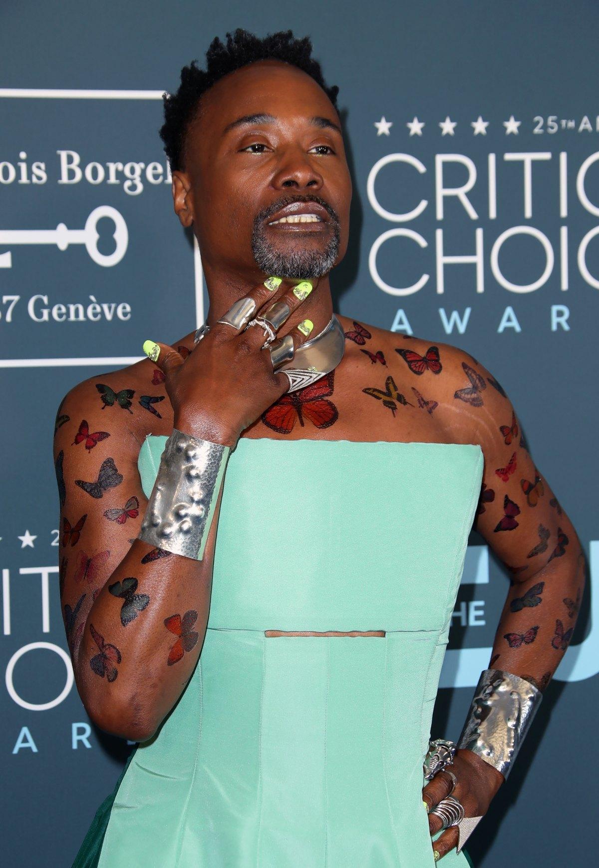 Gayle King Tattoo : gayle, tattoo, Celebs, Temporary, Tattoos, Through, Years: