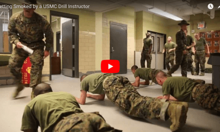 Getting Smoked by a USMC Drill Instructor