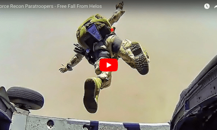 Force Recon Paratroopers – Free Fall From UH-60 Blackhawks