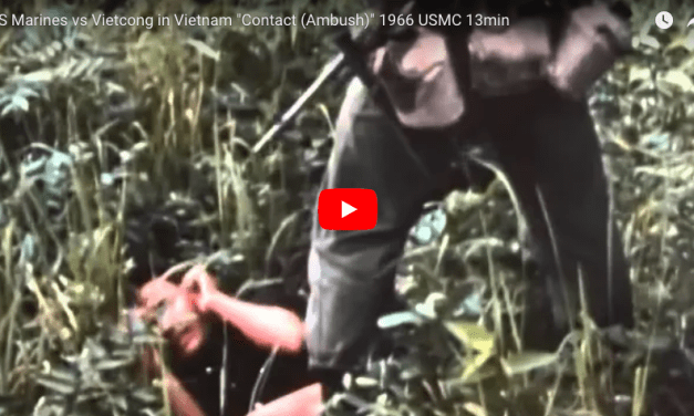 "US Marines vs Vietcong ""Contact (Ambush)"" 1966"