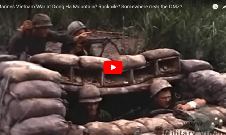 Marines Vietnam War at Dong Ha Mountain? Rockpile? Somewhere near the DMZ?