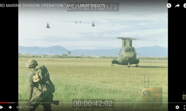 3rd Marine Division Operation Jay – Vietnam