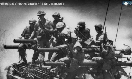 The Famous 'Walking Dead' Marine Battalion Deactivated