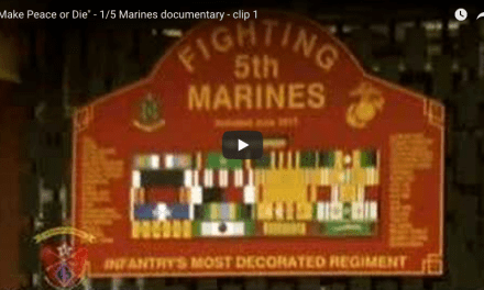 Make Peace or Die – 1/5 Marines Documentary
