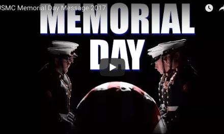 USMC Memorial Day Message