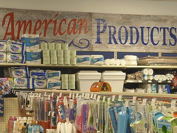 Made in America store gives back on Labor Day
