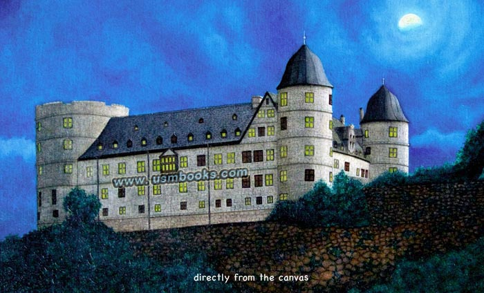 Ss Order Castle Wewelsburg Oil Painting