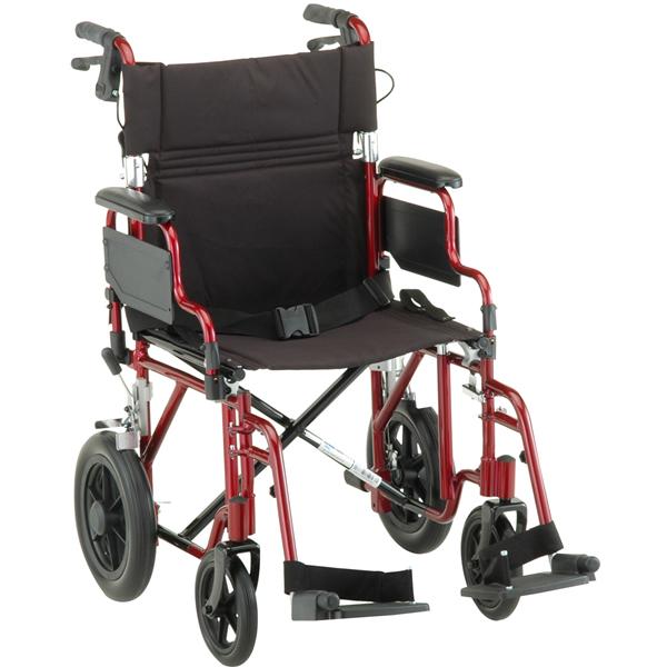 Nova OrthoMed Deluxe Lightweight Transport Chair