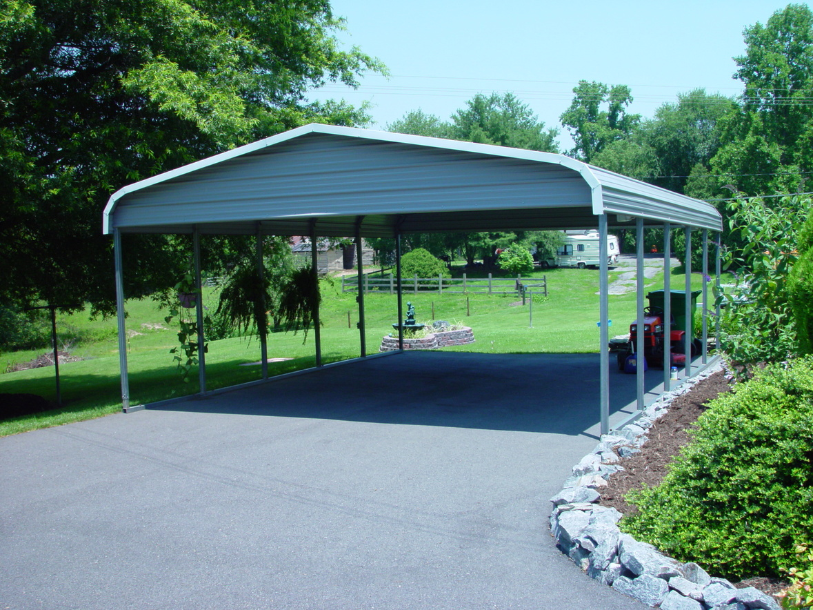 Double Carports  Two Car Carports  2Car Carports