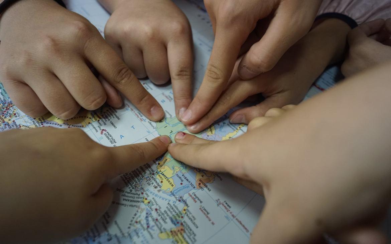 """Warsztaty geograficzno-podróżnicze """"Podróże do państw"""" – Brazylia."""