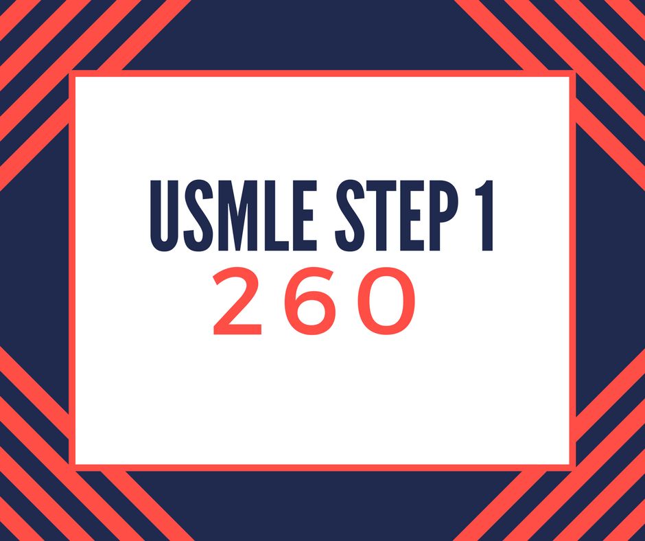 USMLE Step 1 Experience - 260 - American Medical Student