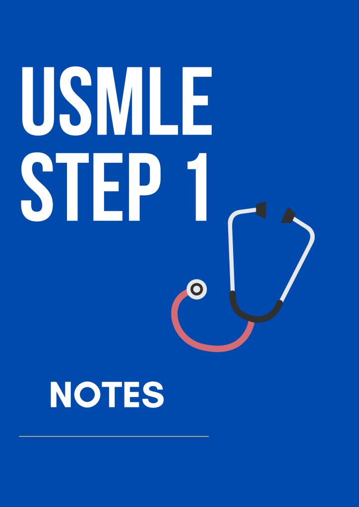 USMLE Step 1 Resources
