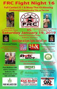 FRC Fight Night 16 @ Ardmore Convention Center