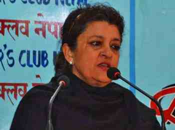 सुजता कोइरालाले भनिन् :'मदन भण्डारी नभएको भए जनआन्दोलन सफल हुँदैनथ्यो'