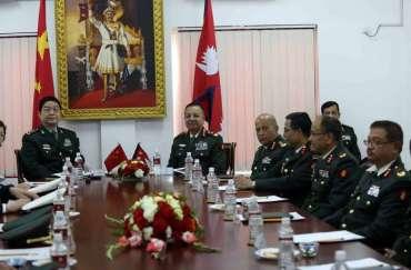 भारत संग सरकार डरायो  , दवाबमा  चीन र नेपाली सेनाबिचको अभ्यास भएन