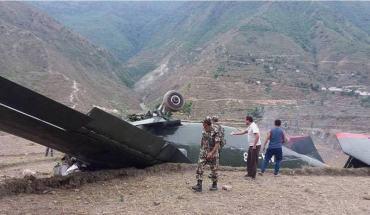 बाजुरामा सेनाको हेलिकप्टर दुर्घटना ,पाईलट महासेनानीको मृत्यु