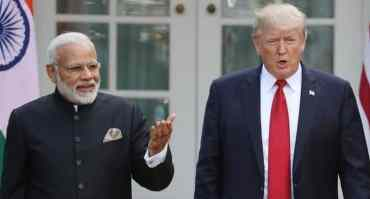 भारतको गणतन्त्र दिवसमा आउन नसक्ने ट्रम्पको जवाफ
