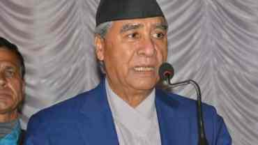 NC President Deuba urges NSU to expand organization up to villages