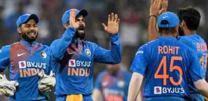 वेस्ट इण्डिजलाई २-१ ले पराजित गर्दै भारतले जित्यो ३ खेलको टि-ट्वान्टी सिरिज